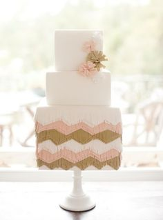 Fringe Cake by Sweet and Saucy | Jen Huang