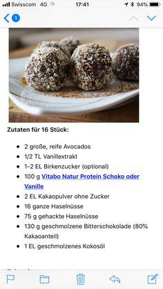 Avocado, Protein, Cereal, Muffin, Breakfast, Food, Vanilla, Cacao Powder, Chocolate