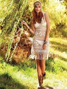 Beautiful Crochet Dresses6