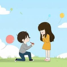 Cartoon Love Photo, Love Cartoon Couple, Chibi Couple, Cute Cartoon Pictures, Anime Love Couple, Cartoon Images, Cute Love Gif, Cute Love Pictures, Cute Couple Sketches