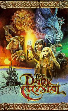 The Dark Crystal = my children all glued to the TV watching the movie over and over and over ... great story line