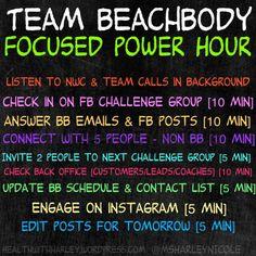 Team Beachbody Power Hour @msharleynicole