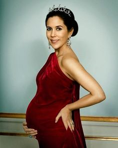 Crown Princess Mary of Denmark  #pregnantroyals #danishroyals