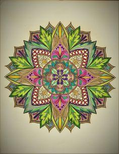 ColorIt Mandalas Volume 1 Colorist: Rose Anthony #adultcoloring #coloringforadults #mandalas #mandalastocolor