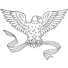 Pattern Detail of American Eagle from the site's library, subject 'Animals and Insects'. PDF downloadable free file also available.