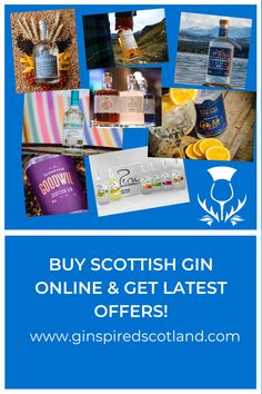 Buy Scottish Gin online and see where your nearest stockist of your favourite tipple is.