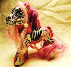 My Little Sugar Skull Pony created by artbycarla.com