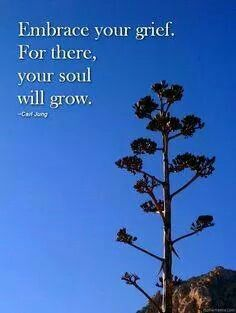 To grow from pain