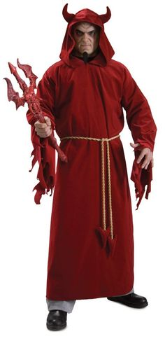 Devil Lord Hooded robe and belt cord