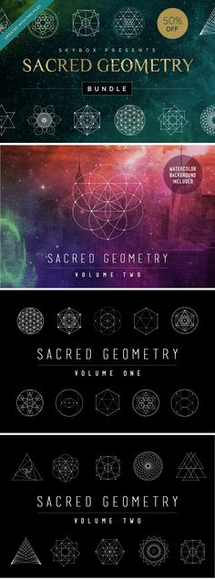 Sacred Geometry Bundle by skyboxcreative on Creative Market