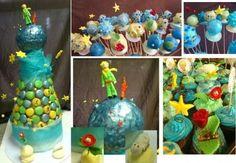 pyramide de macarons, cupcakes et popcakes