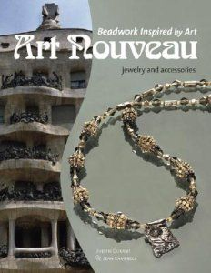 Beadwork Inspired by Art: Art Nouveau Jewelry and Accessories. Bel libro per avere ispirazione!