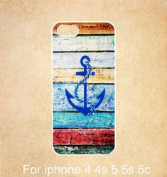 Anchor iPhone 5c case,wood iPhone 5s case,iPhone 5cg case,iPhone b5c 5sg hard/rubber Case,cover skin case for iphone 5c/5svg case,Geometric