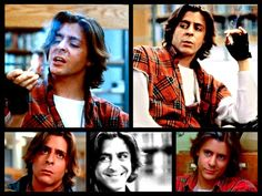 My favorite character from my favorite movie. The Breakfast Club changed my outlook on life at an early age, and I'm lucky I had cool enough parents to show it to me... making John Bender my first crush, obviously