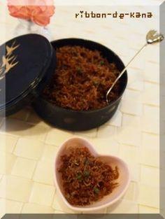 「ちりめん山椒」Kana   お菓子・パンのレシピや作り方【corecle*コレクル】