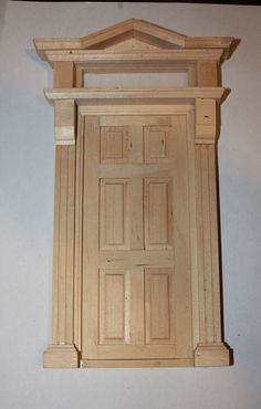 "Victorian door.  Great idea for ""real"" house"