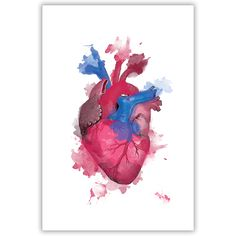 Heart of Watercolor Print