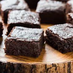 Easy Vegan Brownies Recipe made with avocado, coconut sugar, coconut milk, and coconut oil.