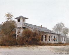 """Old Rugged Church"". Dean Mitchell ..."