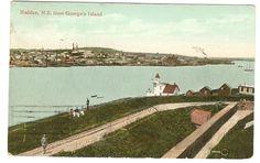 From George'S Island Halifax Nova Scotia Postcard 1913 Upper Clements N S S R | eBay
