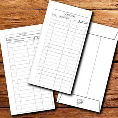 Envelopes Template Register For Diy Envelope System  Budgeting