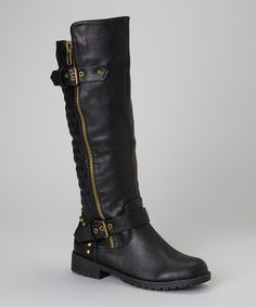 Black Vivienne Boot | Daily deals for moms, babies and kids