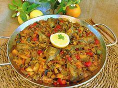 Paella de verduras paso a paso | Cocina