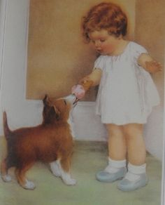 Marguerite Kirmse (1885-1954) was one of America's most noted canine artists
