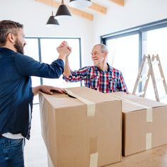 How to Get Elderly Parents to Move? While you can easily see why hiring one of the many moving companies for your parent's move is the way to go, you still need to choose the right services. Cheap Moving Companies, Moving Services, Cross Country Movers, Professional Movers, Lift And Carry, Get Moving, Lost Money, Time To Celebrate, Getting Old
