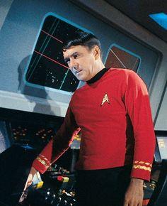 Chief Engineer Lt.Commander Montgomery Scott. 'Scotty' & Spock were my favorites.