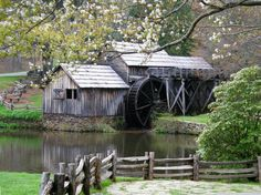 Virginia Landscape Photography Mabry Mill Photograph in the Blue Ridge Mountains Blue Ridge Parkway, Blue Ridge Mountains, Landscape Walls, Mountain Landscape, Country Farm, Country Life, Country Living, Virginia Is For Lovers, Country Landscaping