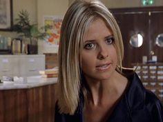 buffy the vampire slayer – makeupbybarbz Buffy Season 5, Season 2, Sarah Michelle Gellar Buffy, Hair Doo, Buffy Summers, New Hair Colors, Buffy The Vampire Slayer, Short Hair Styles, Hair Cuts