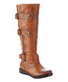 These would make interesting Jedi Boots. Tan Rue Boot #zulily #zulilyfinds