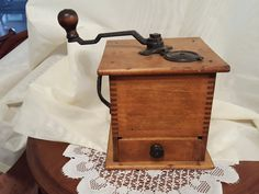Antique Coffee Grinder Logan & Strobridge 1890 to 1900 by ALONGWAYBACK on Etsy