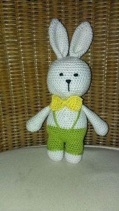 Amigurumi, häkeln, crochet, kostenlos, free, Hase, Ostern, bunny, Easter