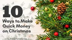 10 Quick Ways to Make Extra Money on Holidays for Christmas Shopping - http://ift.tt/2j6CiTh