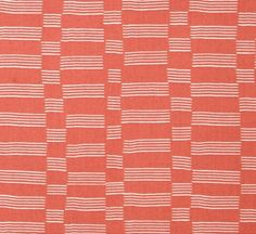Tissu Lotta Jansdotter - Lucky - Windham Fabrics - Coton américain- Etapp corail