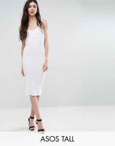 ASOS TALL Midi Cami Body-Conscious Dress