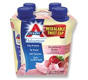 Atkins Advantage Shake - A ready to Drink protein shake good for pre and post bariatric surgery