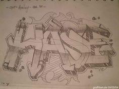 Graffitti  Bleistift