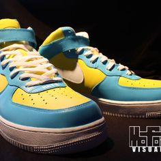 DIY: How To customize Kicks (Paint Shoes) the Mofoz Visualz Way