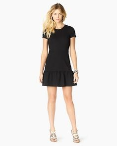 Juicy Couture - Flirty Structured Ponte Dress