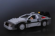 Delorean Time Machine by Legohaulic