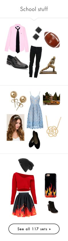 """School stuff"" by hannahkaymusic ❤ liked on Polyvore featuring Polo Ralph Lauren, Marcelo Burlon, Balenciaga, Joseph Abboud, Effy Jewelry, men's fashion, menswear, Chanel, Lord & Taylor and Bling Jewelry"