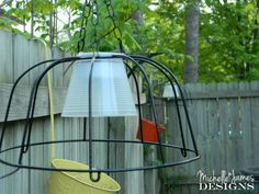 Outdoor Lighting From Dollar Store Items