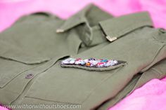 Green Military Overshirt  -  NEW IN | ! With Or Without Shoes