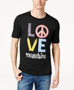 MOSCHINO Moschino Men'S Graphic-Print T-Shirt. #moschino #cloth #shirts