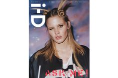 global platform for emerging talent, i-D celebrates fashion, culture, individuality and youth. The Q+A Issue No. 324 Spring 2013 Lara Stone by Charlotte StockdaleThe Q+A Issue No. 324 Spring 2013 Lara Stone by Charlotte Stockdale Lara Stone, Id Cover, Cover Pics, Karlie Kloss, Diane Kruger, Id Magazine, Magazine Covers, Magazine Editorial, Tyrone Lebon