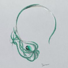 Muzo Emerald at Baselworld 2016 - Alain.R.Truong A special collection of Muzo Emerald jewellery has been designed to showcase these precious stones by designers including Shaun Leane.