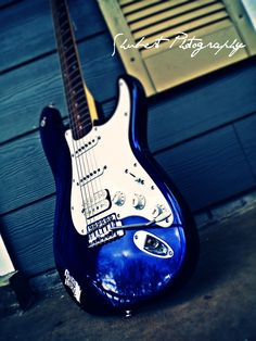 I also happen to play the electric guitar which came very easy to me. at least it was easier than the huge acoustic i own. although my guitar is similar to this one it is also missing a string and it is black not blue....i wanted blue.